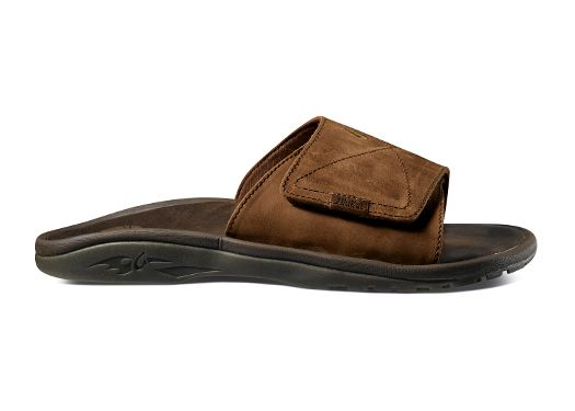 Olukai 'Ohana Leather Men's Slides at Sears.com