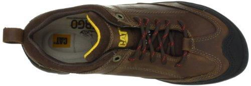 Cat Footwear Sideshift Wp St - Dark Brown - Men's Steel Toe Shoes at Sears.com