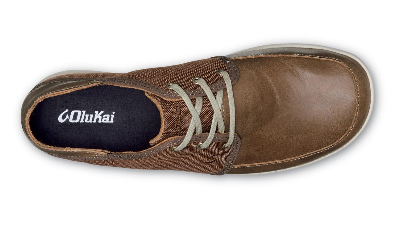OluKai Nohea Lace Leather - Men s Casual Shoes - Mustang Mustang - Top 3874d66ef8a2