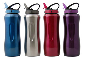 Cool Gear - 196 - Waterville Stainless Steel Bottles