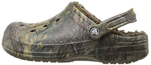 16cb5ec9f01e Crocs Realtree Xtra - Unisex Faux Fur Lined Winter Clogs -  Chocolate Chocolate