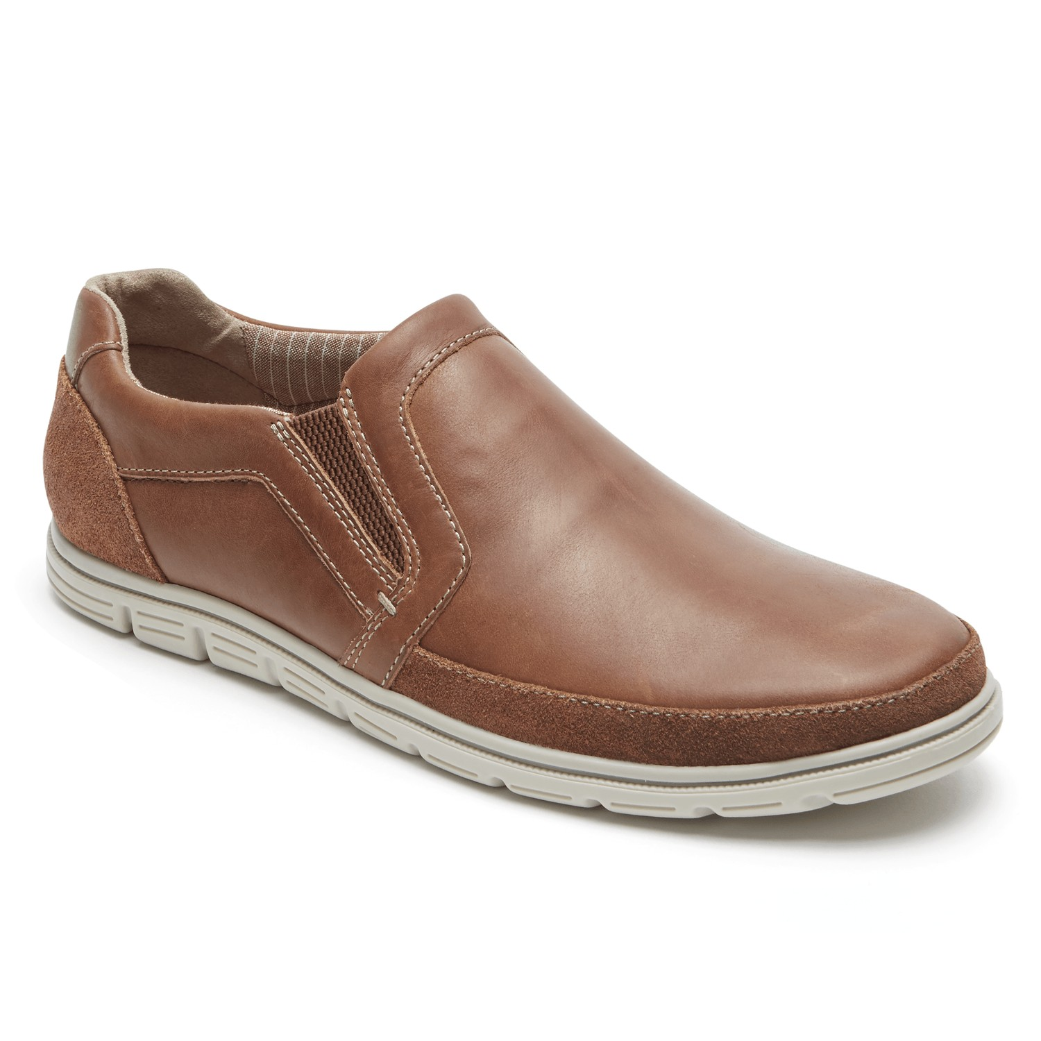 895a454a4 Rockport Bowman Double Gore Men s Slip-On - Free Shipping