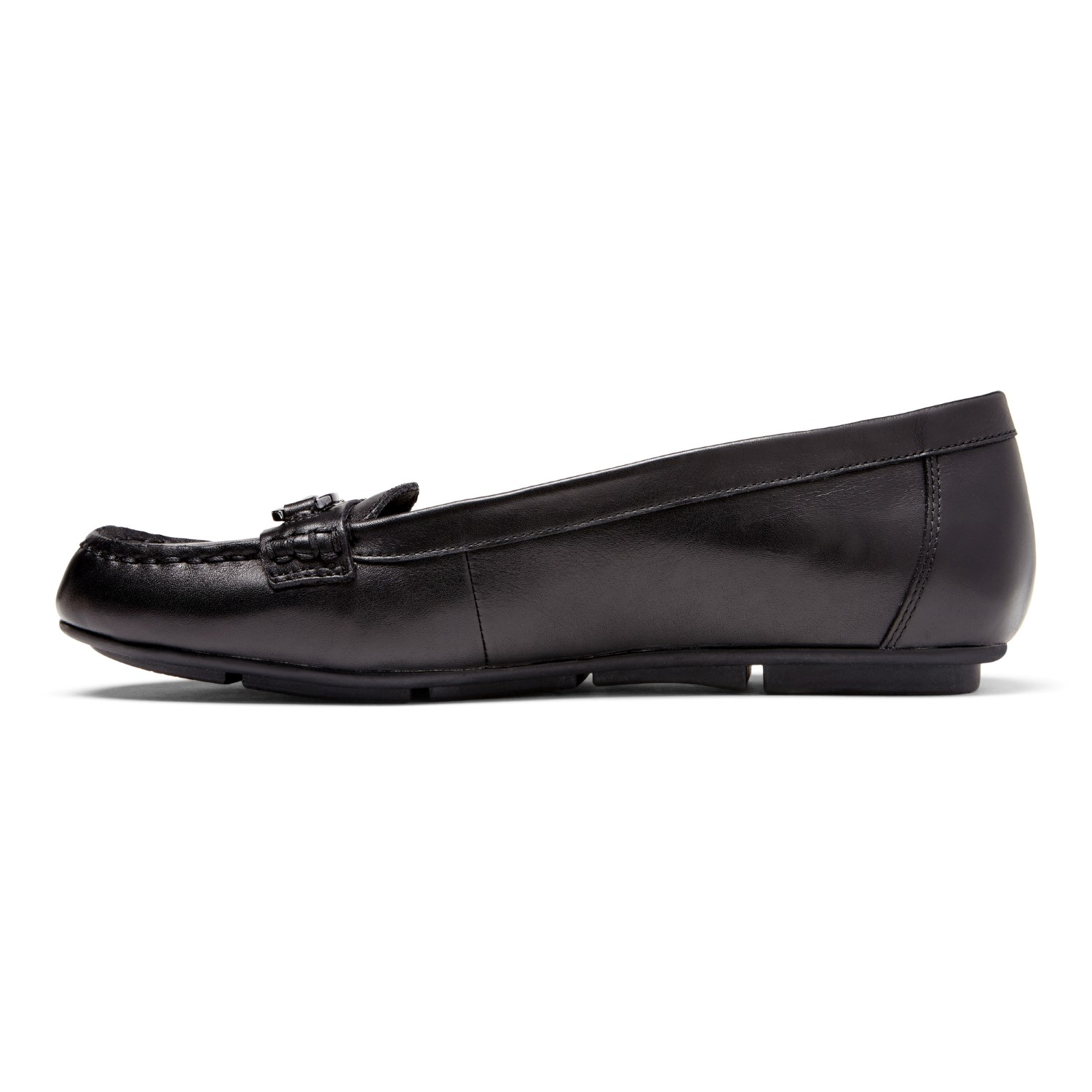 ec57df3af65 Vionic Chill Kenya - Women s Supportive Loafers - Black - 2 left view