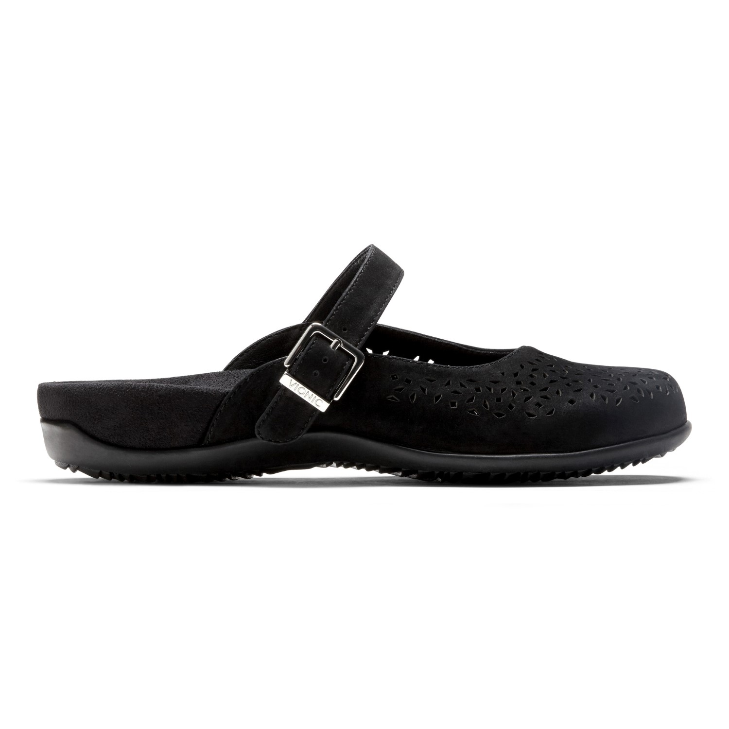 Vionic Lidia - Women's Slip-on Supportive Mule - Black right view