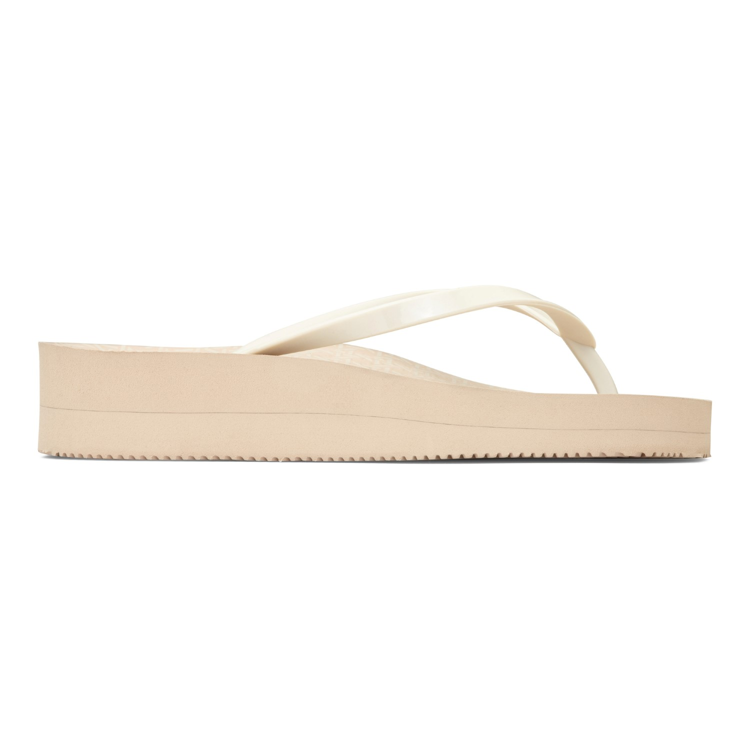 09f98ef00 Vionic Coogee Wedge Women s Toe Post Sandal - Cream Woven 4 right view