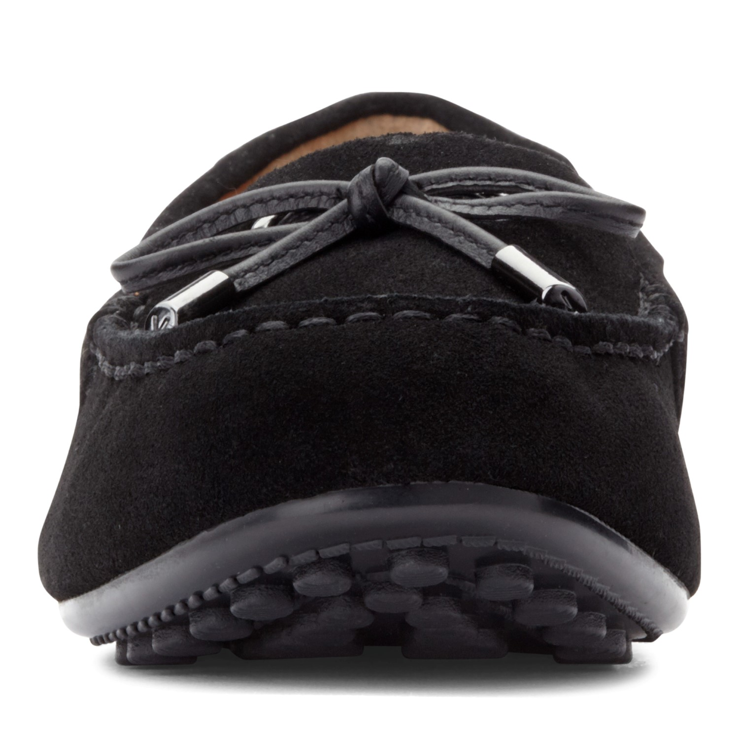a394259f6ef Vionic Honor Virginia - Women s Supportive Boat Shoe - Black - 6 front view