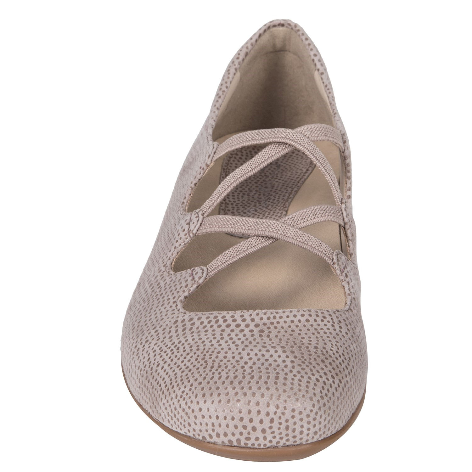 06e80489457 Earthies Clare - Women s Ballet Flat - Ginger - front