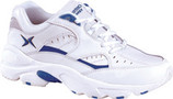 Apex by Aetrex V854 - White/Navy (Mens)