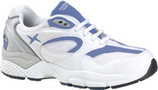 Apex by Aetrex X521 - Mens - White/Navy