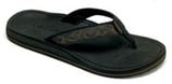 Moszkito Archy 401 Black Mens - Arch Support Flip Flops