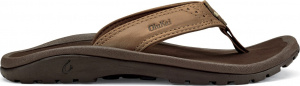 Olukai Nui Boy's Leather Comfort Sandals