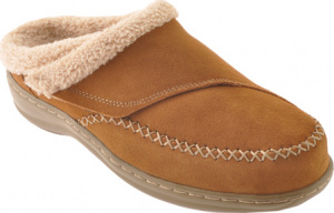 Orthofeet Charlotte Women's Orthotic Slippers Brown