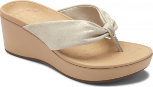 Vionic Arabella Women's Wedge Toe Post Sandals