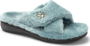 Vionic Relax Luxe Orthotic Support Slipper Teal
