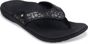 Spenco Cheetah Print Sandals - Women's