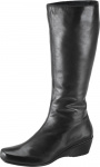 Aetrex Essence Boots - Vanessa Tall Wedge Boot - Leather - EB30