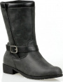 Propet Hadsten - Boots - Women's - Vintage Black - angle view