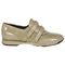 Aetrex Anna Double Strap - Taupe Comfort Shoe Side View