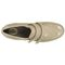 Aetrex Anna Double Strap - Taupe Comfort Shoe Top View