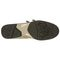 Aetrex Anna Double Strap - Taupe Comfort Shoe Bottom View