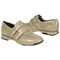 Aetrex Anna Double Strap - Taupe Comfort Shoe Pair View