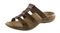 Orthaheel - Porto - Dark Brown - Orthotic Sandals - Side View