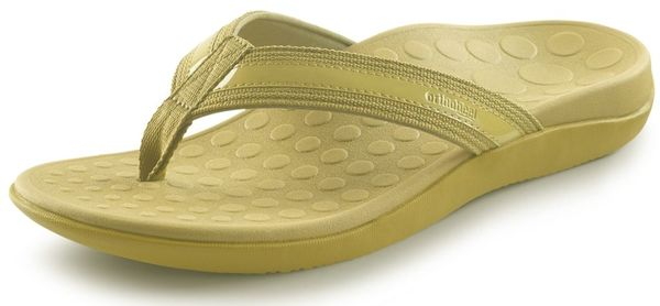 Orthaheel - Tide - Support Sandal - Yellow - Women - side view