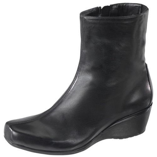 Aetrex Essence Boots - Carolyn Ankle Wedge - Leather - EB20