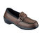 Orthofeet Women's Easy Slip-on Shoes - orthofeet-812-brown-814