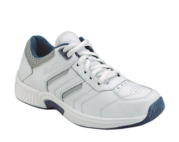 Orthofeet Women's Athletic - Lace Shoes - orthofeet-940-white