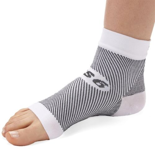 FS6 Plantar Fasciitis Foot Compression Sleeve White