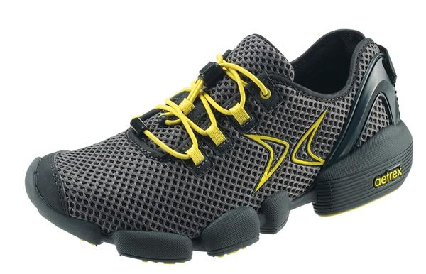 Aetrex ModPod Active walking shoe - Men - MP402  Grey/Yellow