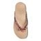 Vionic Bella - Women's Orthotic Thong Sandals - Pink Snake 3 top view