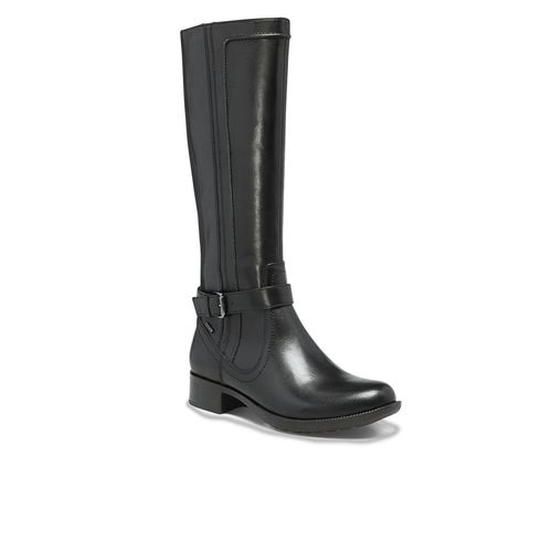 Cobb Hill Christy - Women's Waterproof Tall Boot - Black - Angle main