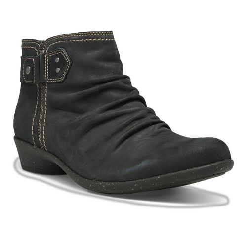 Cobb Hill Nicole - Women's Low Boot - Black - Angle main