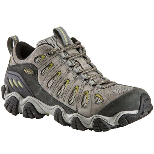 Oboz Sawtooth Low Men's Hiking Shoe - Sawtooth Low Pewter 1