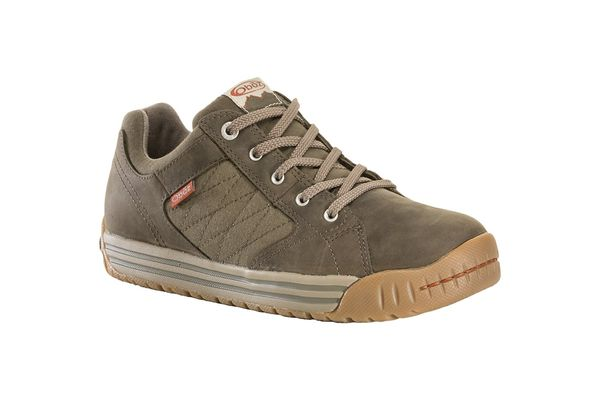 Oboz Mendenhall Men's Causal Supportive Sneaker - Tarmac