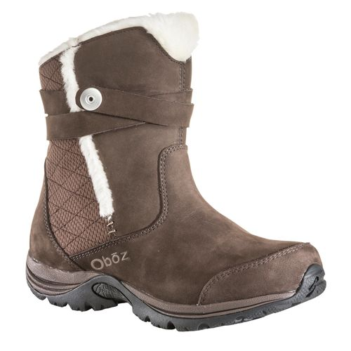 Oboz Madison Insulated Women's Supportive Boots - Chocolate 1