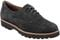 Earthies Santana - Women's Oxford - Black Suede - front main