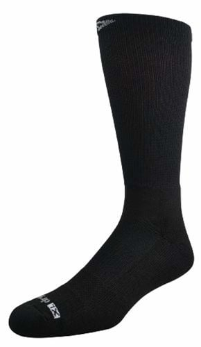 DryMax Workboot Over the Calf Padded Socks - Keeps Feet Dry & Protected - Black