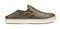 Olukai Pehuea Leather - Women's Casual Shoes - Pewter/Charcoal - Drop-In-Heel