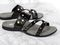 Revitalign Playa Slide Women's Comfort Sandal - Black angle pair