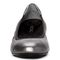 Vionic Ava Women's Ballet Flats - Pewter - 6 front view