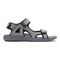 Vionic Moore Neil - Men's Orthotic Sandals - 4 right view Grey