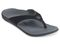 Spenco Yumi Plus - Men's Memory Foam Supportive Sandal - Carbon/Pewter angle