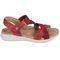 Earth Bali - Women's Sporty Comfort Sandal - Bright Red - outside