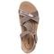 Earth Bali - Women's Sporty Comfort Sandal - Taupe - top