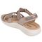 Earth Bali - Women's Sporty Comfort Sandal - Taupe - back