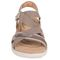 Earth Bali - Women's Sporty Comfort Sandal - Taupe - front