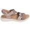 Earth Bali - Women's Sporty Comfort Sandal - Taupe - outside